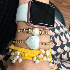 Set By Vila Veloni Extraordinary Yellow Collection Bracelets