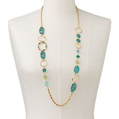gold and turquoise necklace - Necklace Design Ideas