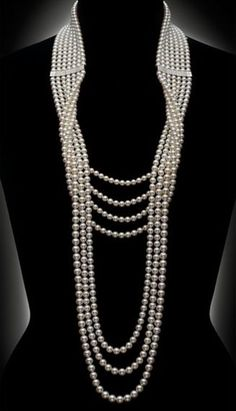 Mikimoto diamond and pearl necklace www.lab333.com www.facebook.com/pages/LAB-STYLE/585086788169863 www.lab333style.com lablikes.tumblr.com www.pinterest.com/labstyle