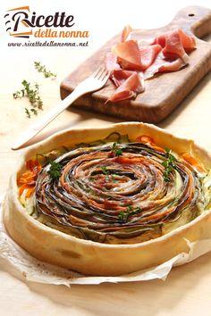 Torta salata alle verdure
