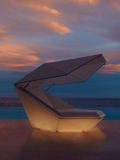 Daybed of Faz collection by Ramon Esteve. Perfect for the roof top patio at my penthouse condo Concrete Furniture, Modular Furniture, Wicker Furniture, Living Furniture, Garden Furniture, Furniture Design, Outdoor Furniture, Villa, Shops