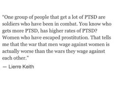 Women who have been  assaulted or in abusive relationships are also prone to PTSD