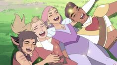 I want to start off by saying, this series is filled with all the colors of the rainbow. It's a story of endearment that addresses love of all kinds.  #shera Mermista She Ra, Best Fiends, She Ra Princess Of Power, Animation Series, Way Of Life, Best Shows Ever, Picture Wall, Wall Collage, Poster