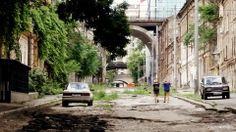 Entrance into Devolaniski street.