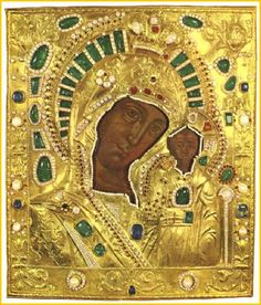 The Virgin of Kazan is one of the most revered Russian religious icons.