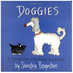 Doggies, A Counting and Barking Book - Sandra Boynton - A Thrifty Mom