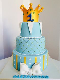 Birthday cake prince boy
