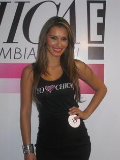 María Clara Rodríguez en la selección de candidatas Chica E! Colombia