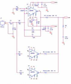 DIY BPA300 6x LM3886 300W audio Amplifier