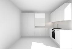 Homevialaura, uusi koti, moderni valkoinen keittiö, suunnitelma, HTH Interior Minimalista, Koti, Kitchen Modern, Minimalist Chic, Interiors, Kitchens, Kitchen Contemporary