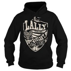 Its a LALLY Thing (Eagle) - Last Name, Surname T-Shirt