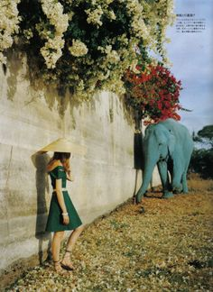 Photographed by Tim Walker for Vogue Nippon July 2007