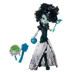 I bought this Monster High Ghouls Rule Frankie Stein Doll the other day. I've given her a straight perm but I'm still not happy with her hair. If I had more time I'd be rerooting her but I do like her as a doll, which is surprising as I don't like Monster High.