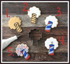 Utilice este tutorial para convertir un cortador ramo en una divertida decoración de galletas de azúcar petardo!