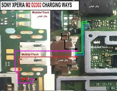Sony Xperia M2 D2302 Charging Problem Solution Jumper Ways | Солюшены | Sony, Sony xperia и Android
