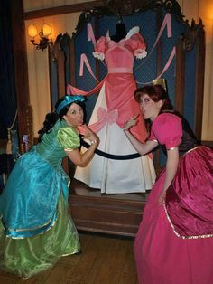 Anastastia and Drizella.