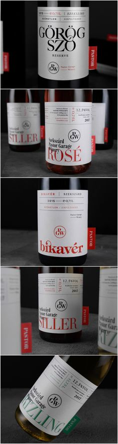 Design Agency: kissmiklos Brand / Project Name: Pastor Winery Location: Hungary Category: #wine #drink