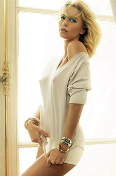 "svenjorgesen: ""life-from-a-window: "" Charlize Theron "" Pokies! """