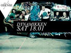 JazzRapFunkFest. #Dynamikken & #LyriskeTilbøjeligheder. Dynamic Rap accompanied by 6 man band! #StudenterhusOdense #Odense #thisisodense #saturday Læs anbefalingen på: www.thisisodense.dk/7101/jazzrapfunkfest