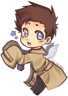 Castiel Chibi by Love-The-Nekos on deviantART