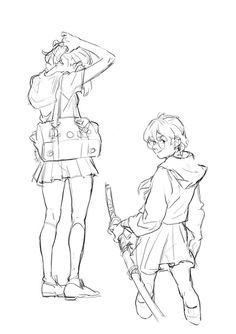 TB choi drawing