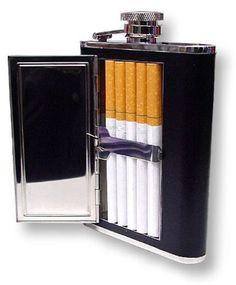 Hip Flask With Cigarette Holder - http://ift.tt/2mJQNjf