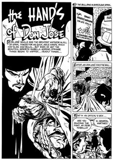 Comic panel by Alex Toth