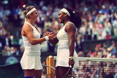 Victoria Azarenka & Serena Williams // Wimbledon 2015