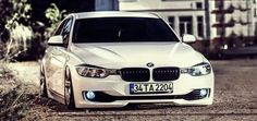 BMW F30 3 series white slammed Custom Bmw, Car Manufacturers, Slammed, Edm, Muscle Cars