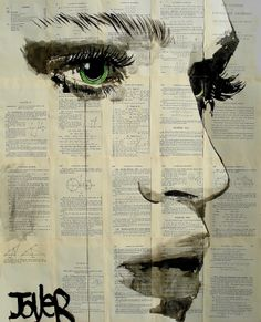 "Saatchi Online Artist: Loui Jover; Pen and Ink, 2013, Drawing ""we could be"""