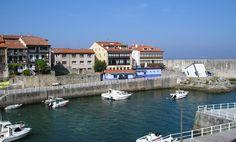 Vista de la entrada del Puerto