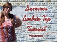 Summer Sorbeto Top Tutorial
