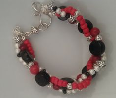 Wrapped in Red by BabaJewelryandBeads on Etsy
