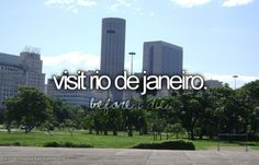 have to visit rio de janeiro after watching RIO a hundred times Stuff To Do, Things To Do, Girly Things, Take Me Away, Visit Rio, Bucket List Before I Die, I Want To Travel, Once In A Lifetime, Willis Tower