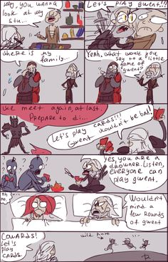 The Witcher 3: Gwent. by Ayej on DeviantArt Yep you wanna play with everyone . I live that game