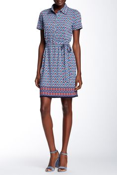 Printed Shirt Dress by Max Studio on @nordstrom_rack