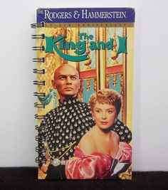 Recycled Notebook From The King And I VHS by AWRecycledJournals