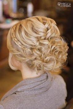 hair hair updos Creative and Elegant Wedding H Wedding Hairstyles For Long Hair, Fancy Hairstyles, Wedding Hair And Makeup, Hair Makeup, Bridal Hairstyles, Hairstyle Wedding, Style Hairstyle, Bridal Hairdo, Hairstyle Ideas