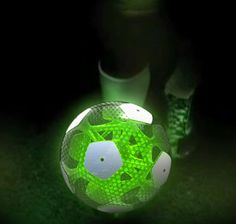 CTRUS Football by Agent... internal GPS senses goal and changes color