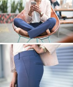 Dress Pant Yoga Pants: Quite simply the comfiest pants you'll ever wear to work. I NEED THESE!