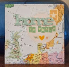 handmade by margaretha: Home Is Where The Heart Is