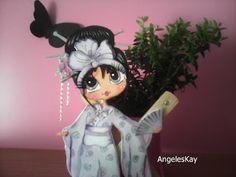 Mis manos y yo el blog de Angeleskay: Muñecas planas de goma eva