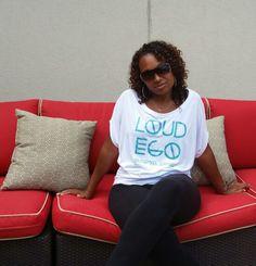 Loud Ego Apparel White Flowy too, $32 www.loudegoapparel.com