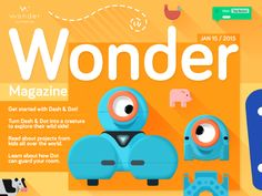 Designed and illustrated a suite of digital and print products for a pair of toy robots named Dash & Dot. They are bluetooth enabled toys with fun personalities that help teach kids coding concepts. Dash And Dot Robots, Dash Robot, Instructional Technology, Instructional Strategies, Problem Based Learning, Coding For Kids, Digital Storytelling, Blended Learning, Learn To Code