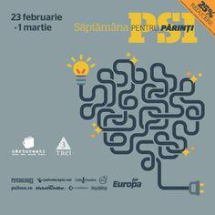 Te asteptam la Saptamana PSI pentru parinti, intre 23 februarie si 1 martie. Despre parenting si psihologia copilului.