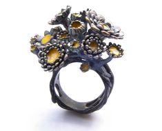 Nora Rochel  Ring  Silver, enamel