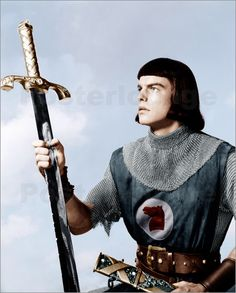 PRINCE VALIANT (1954) - Robert Wagner - Janet Leigh - Sterling Hayden - Directed by Henry Hathaway - 20th Century-Fox - Publicity Still.