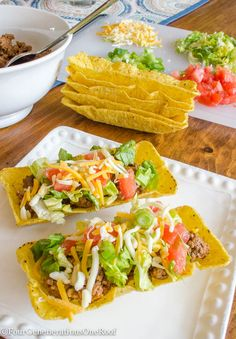 How to make tacos / flat bottom taco shells with Four Generations One Roof