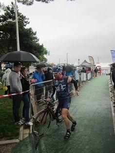 #Half #triathlon #royan #charente-maritime #transition #bike #parcàvélo #casque #helmet #pluie #jp1c