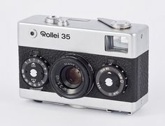 Rollei 35 - this is the version I have. I love this little camera! Great optics and full exposure control and focus!